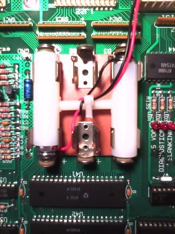 Pinball Classics No Solder Remote Battery Holder